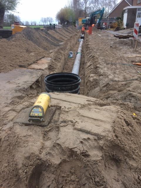 Reconstructie Vuilwater riool en aanbrengen infiltratie riool te Driebruggen